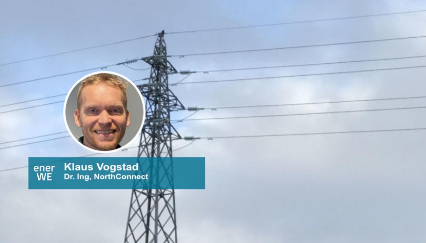Klaus Vogstad skriver i EnerWe om NorthConnects klimaregnskap