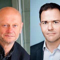 Adm. dir. Stein Lier-Hansen i Norsk Industri og daglig leder Marius Holm i Zero.